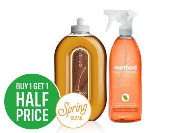 Buy One Get One Half Price on Method
