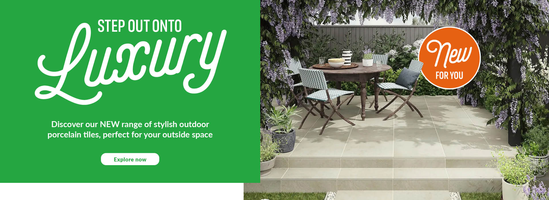 New for you outdoor tiles