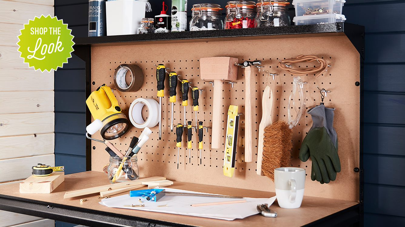 Shop the look. Array of tools