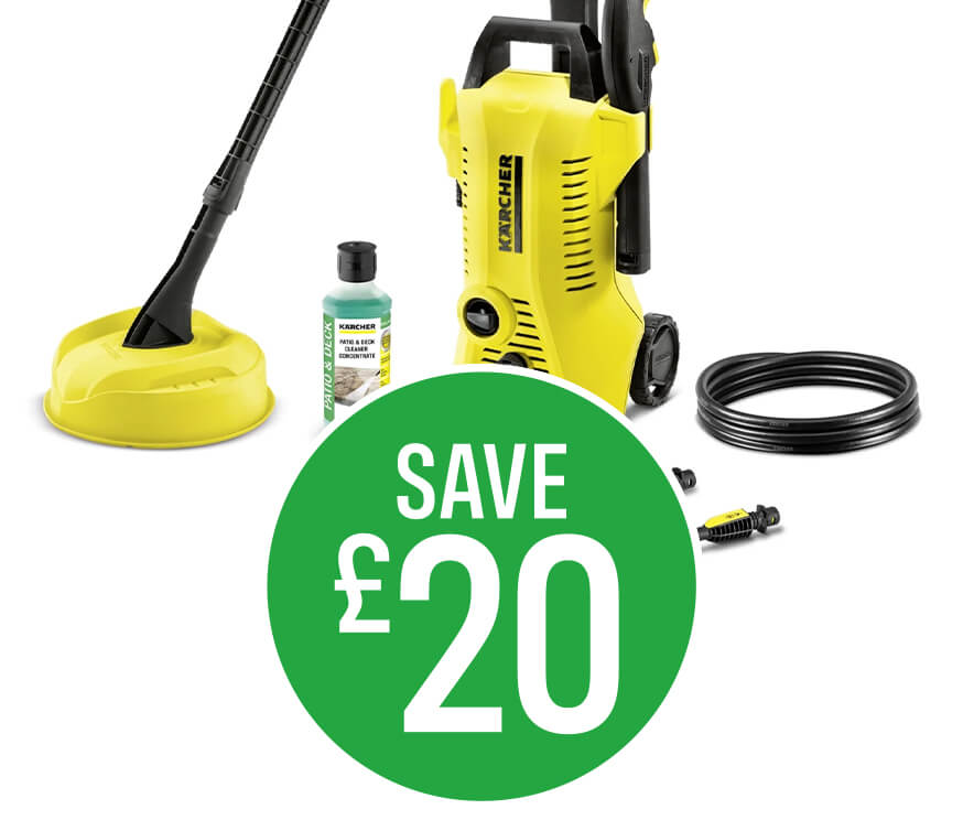 Save £20 on Karcher K2 Power Control Pressure Washer
