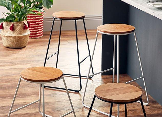 Wooden Kitchen stools