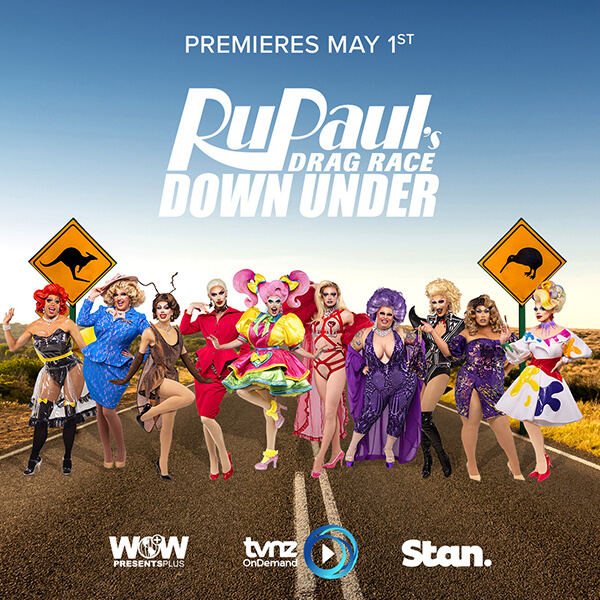 Revolution X Ru Pauls Drag Race Down Under