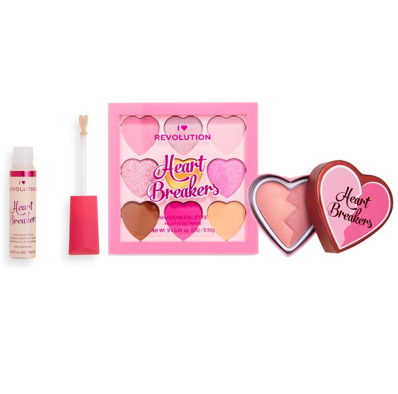 Build your own bundle including a Heartbreaker Concealer, Blusher and Palette - Save 39%