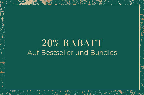 20% off bestsellers and bundles