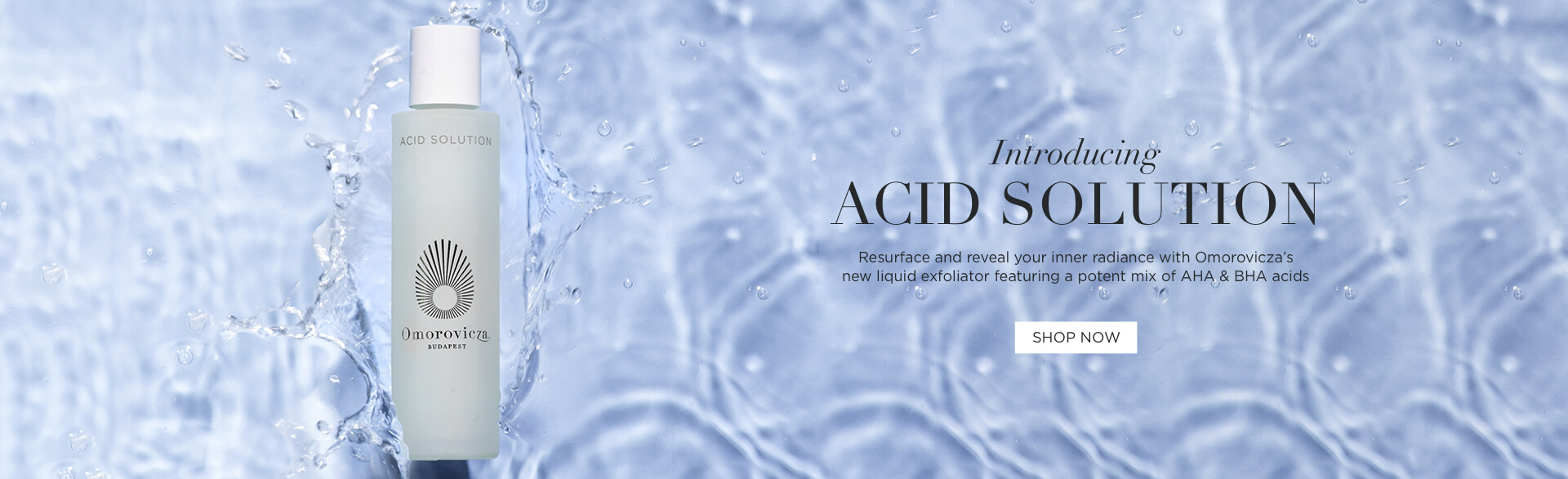 Introducting Acid Solution - resurface and reveal your inner radiance with Acid Solution