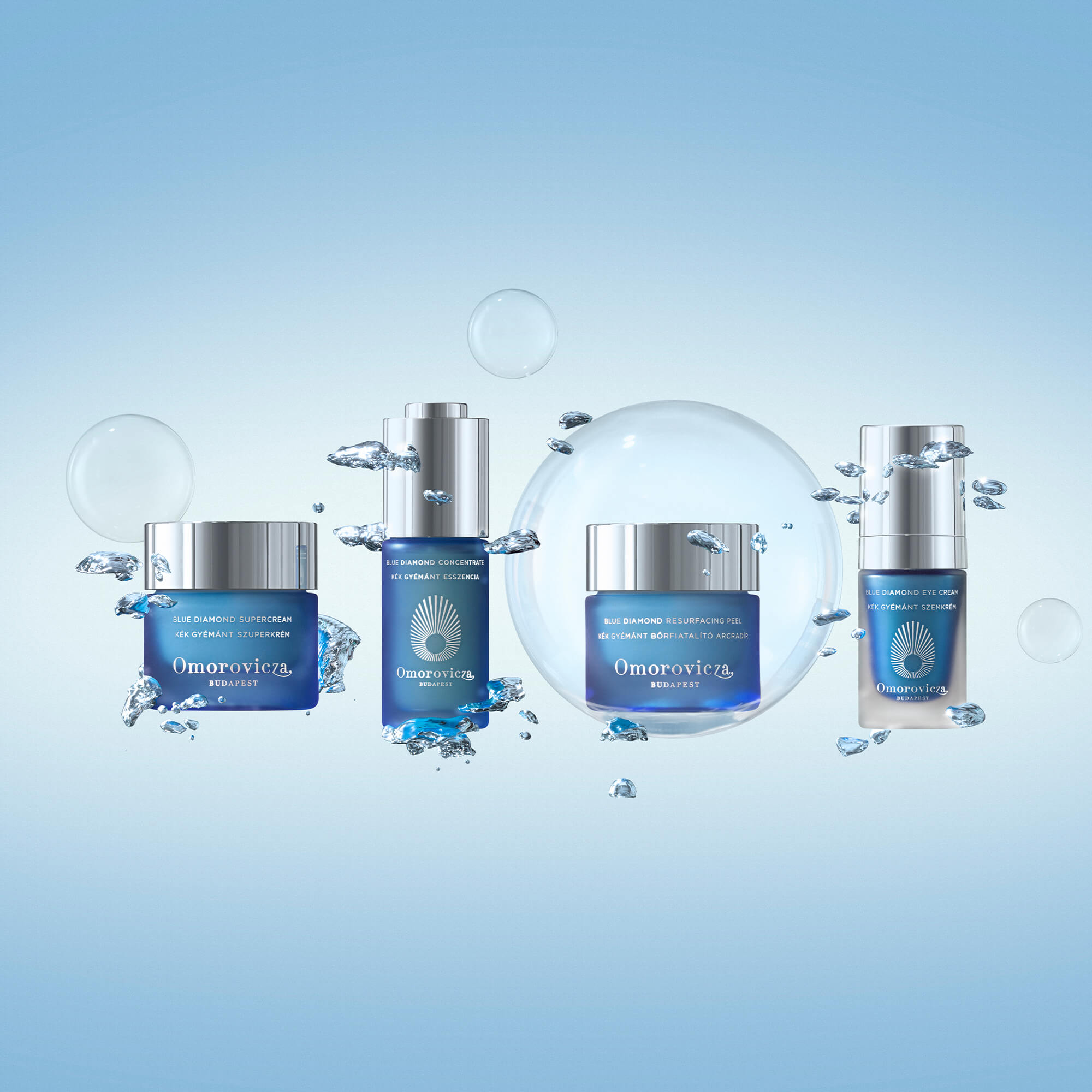 Omorovicza Blue Diamond Collection