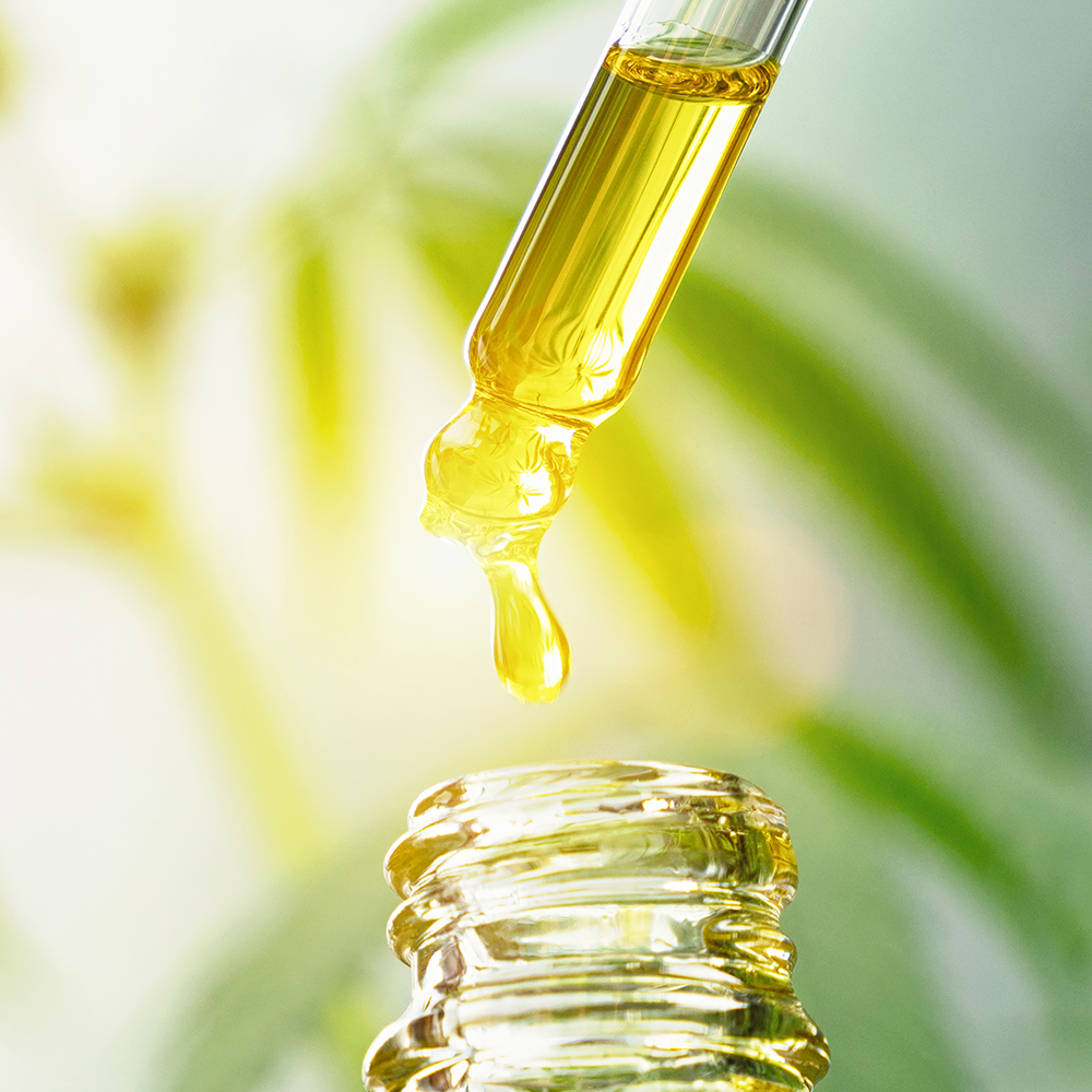 Cannibidiol (CBD Oil)' - Calms and soothes skin, reducing stress on cells for a younger looking complexion. A powerful antioxidant, it defends against free-radical damage & stimulates cell repair.
