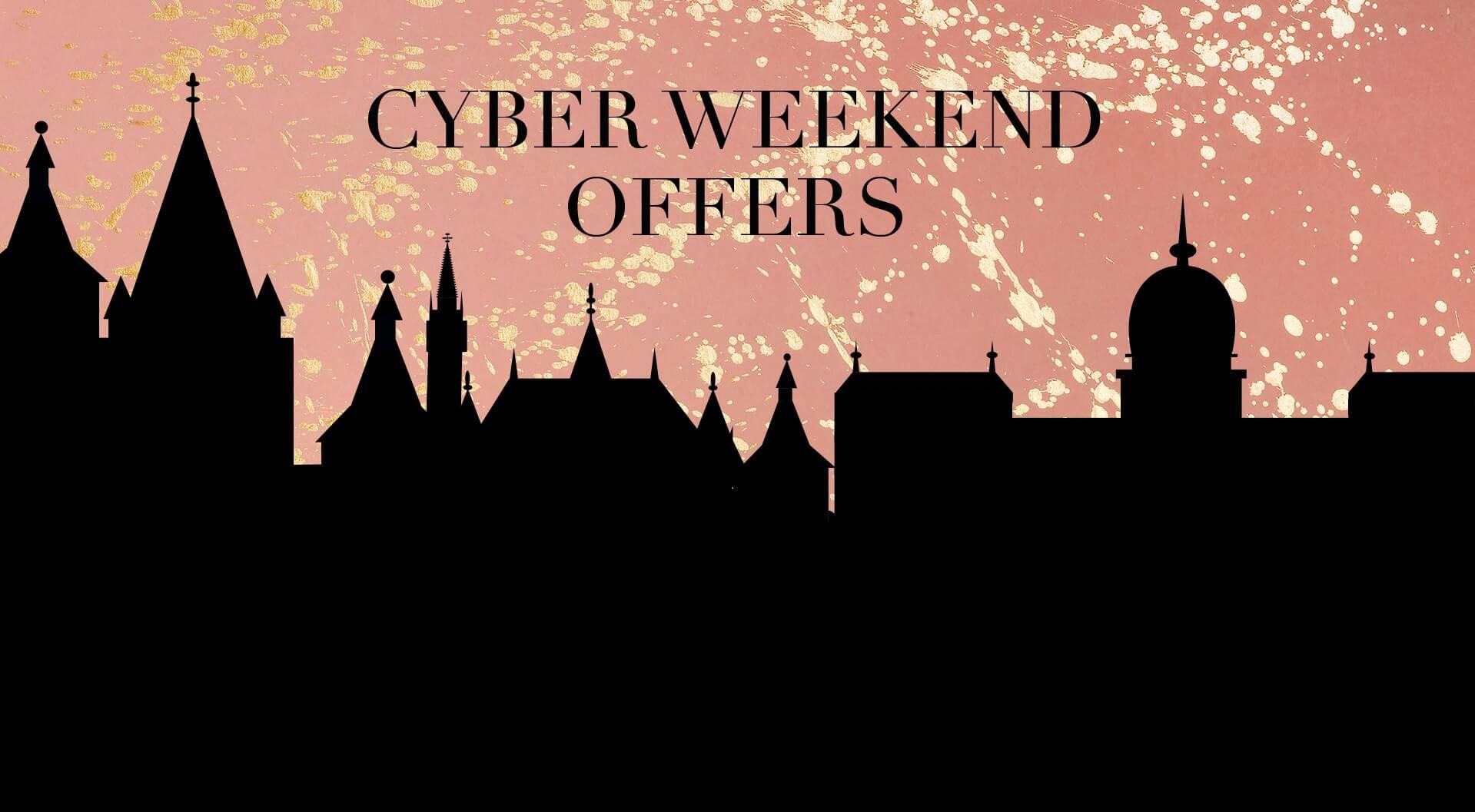 Cyber Weekend Offers