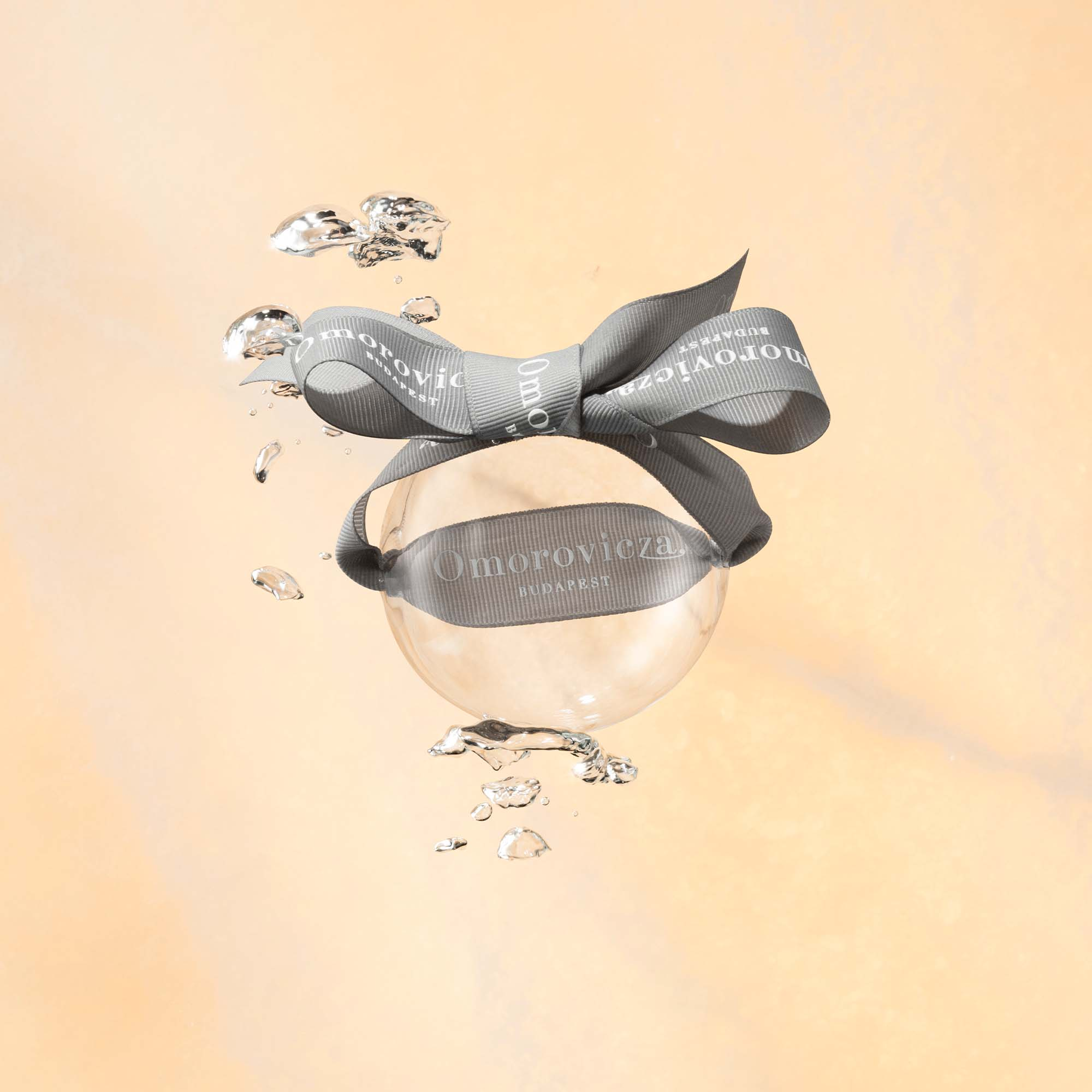 Bauble with ribbon