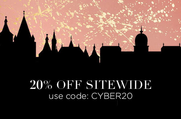 20% off sitewide: Use Code CYBER20
