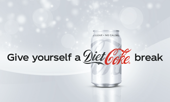Give yourself a Diet Coke break