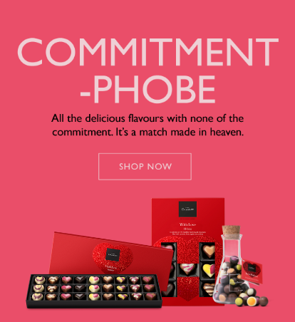 Commitment Phobe. All the delicious flavours with none of the commitment. It's a match made in heaven.