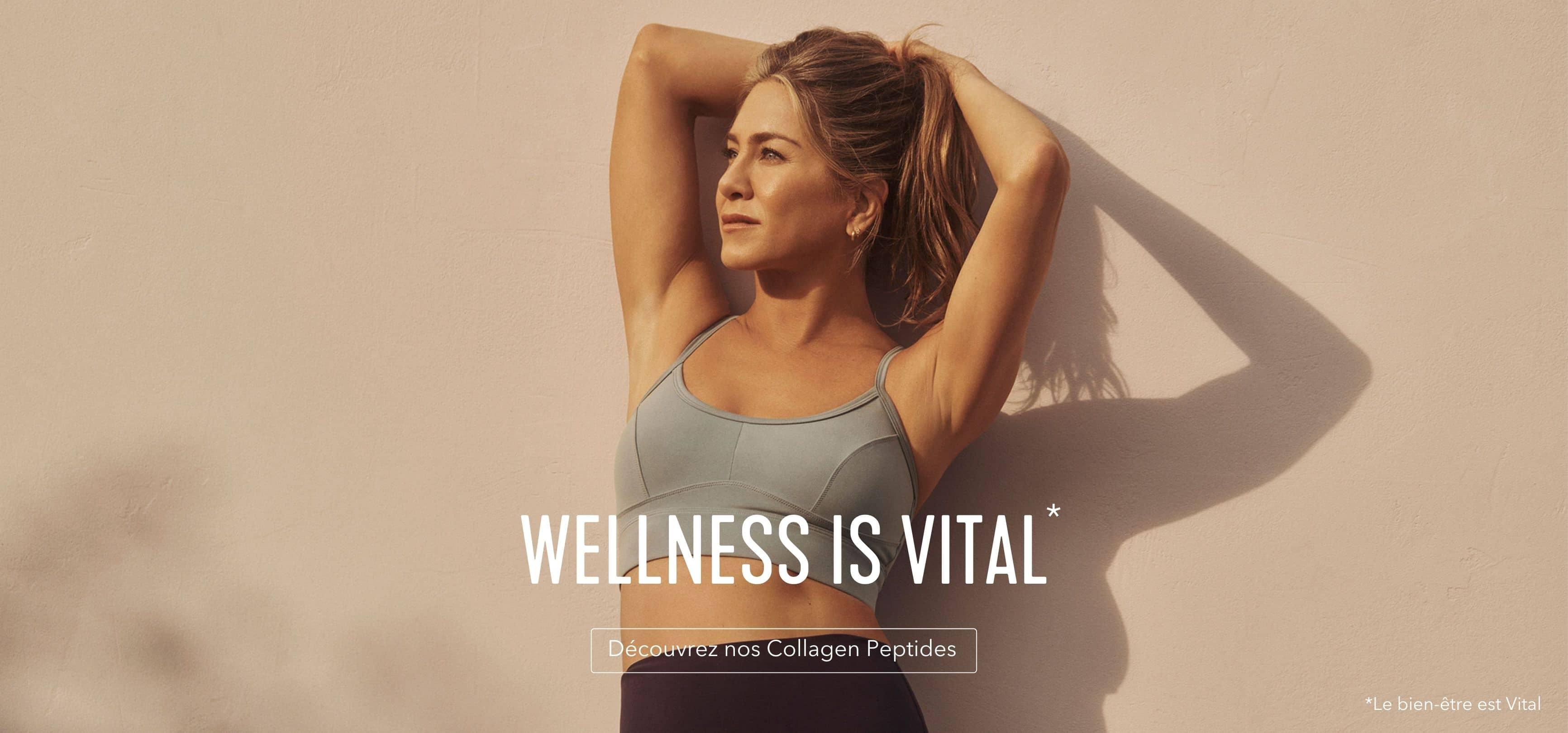 Le bien-être est vital. Découvrez nos Collagen Peptides