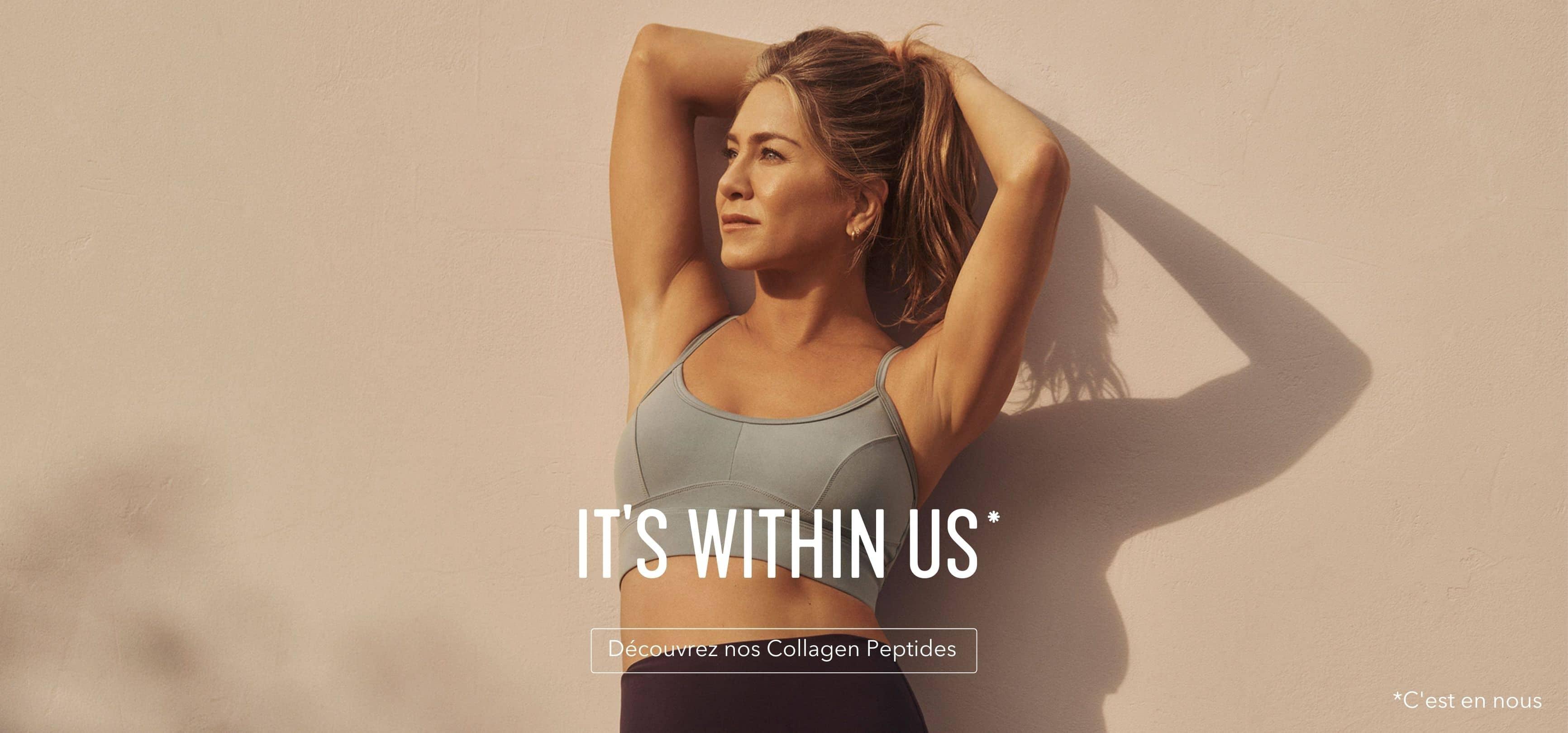C'est en nous. Découvrez nos Collagen Peptides