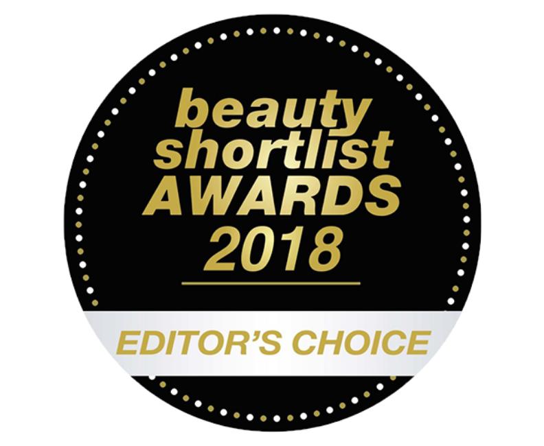 beauty shortlist awards 2018 editors choice roundel