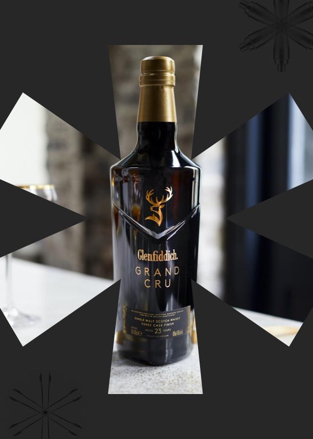 Clink* Gift Finder. Image shows a bottle of Glenfiddich Grand Cru