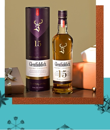 Image of Glenfiddich 15 year old Single Malt Scotch Whisky