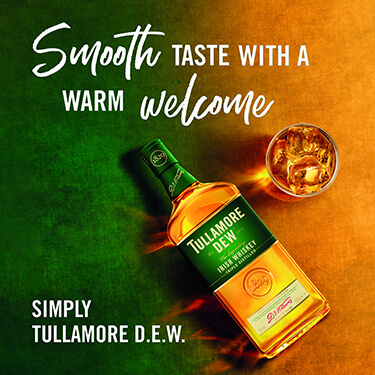 Smooth taste with a warm welcome. Simply Tullamore D.E.W