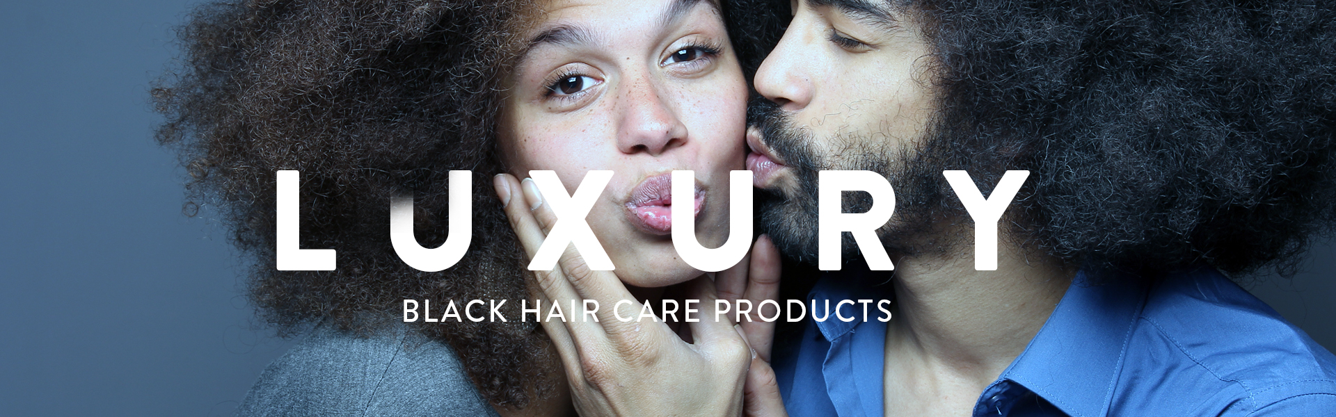 Luxury black hair care products