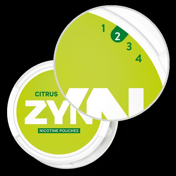 ZYN Regular Strength Citrus pouches