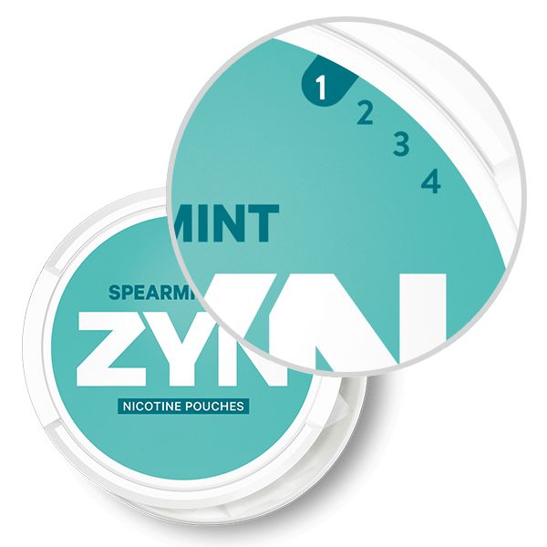 ZYN Mellow Strength Spearmint pouches