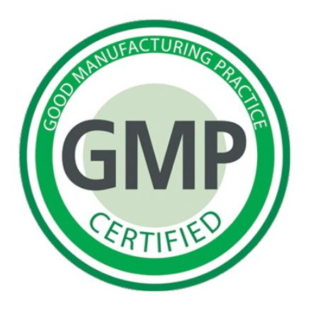 GMP Good Manufacturing Practice Certified