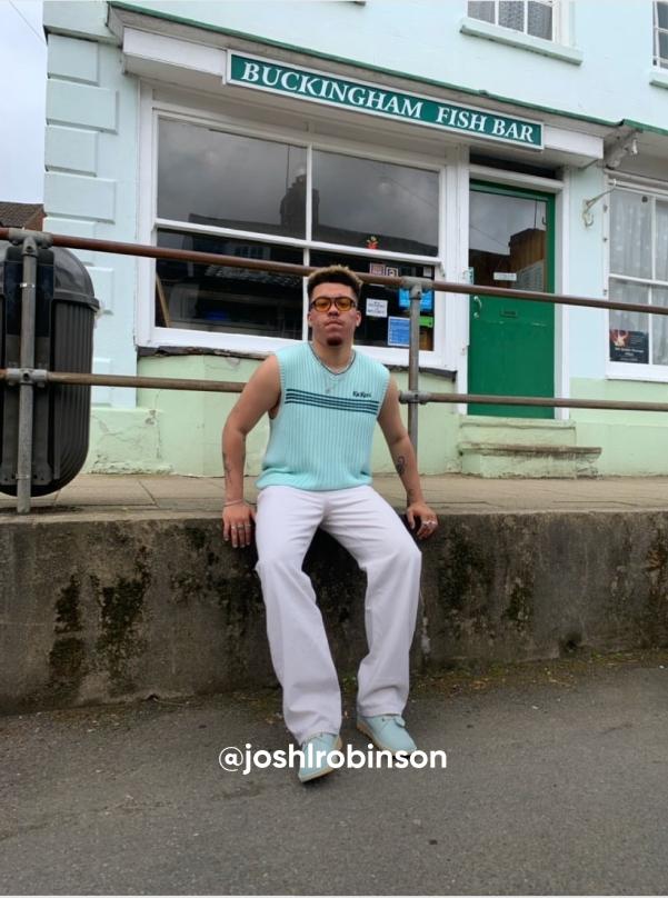 man posting on the street - Visit Kickers Instagram