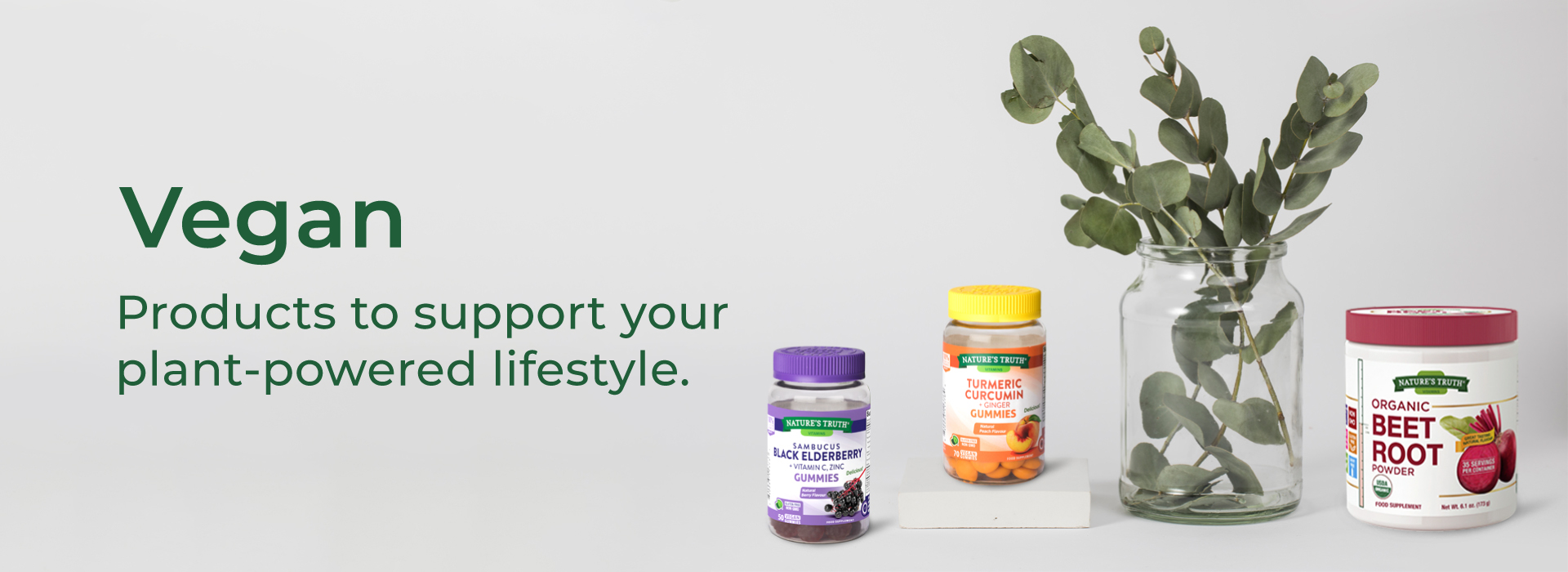 Vegan products to support your plant powered lifestyle