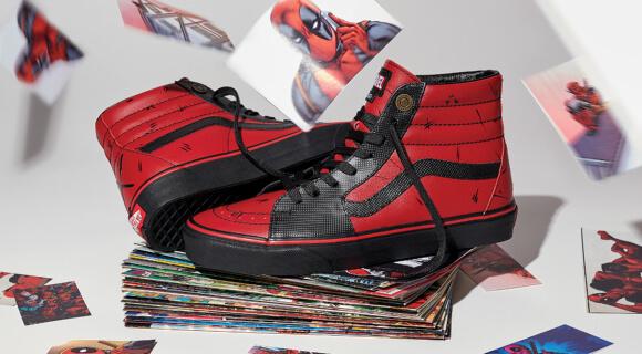 Vans X Marvel