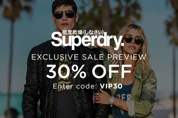 Superdry Sale Preview