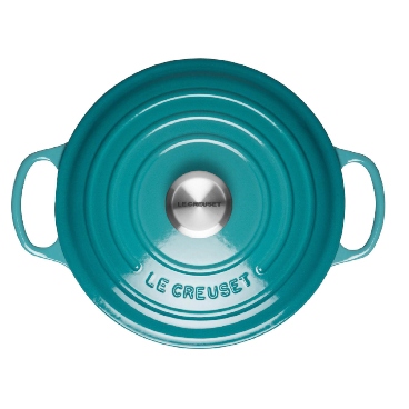 Teal Le Creuset