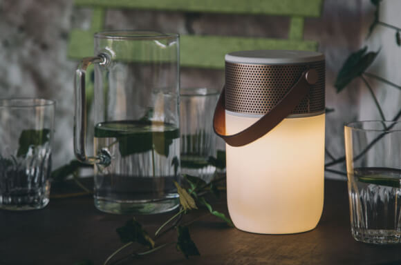 KREAFUNK aGLOW Multifunctional Bluetooth Speaker