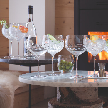 Glassware up to 30% off