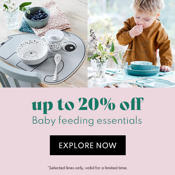up to 20% off baby feeding
