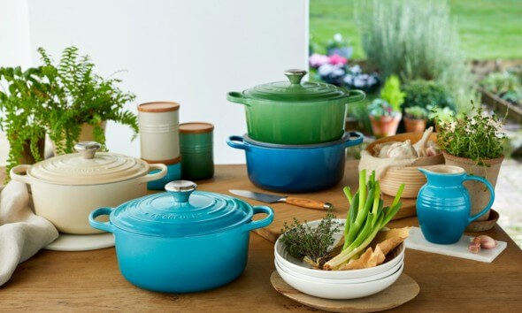 Le Creuset Bring Nature into your Kitchen for SS18