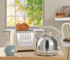 Dualit cream toaster and kettle