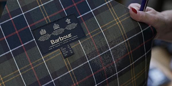 Barbour Factory Tour