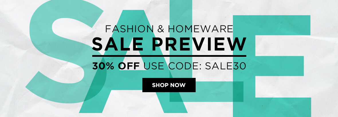 30% off SALE preview