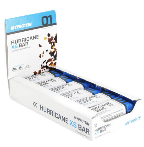 hurricane xs - best protein bar for men
