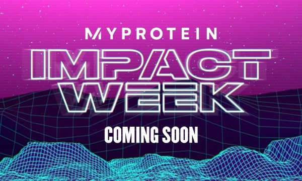 Myprotein Impact Week Sign Up