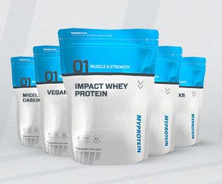 25% намаление на всички протеини