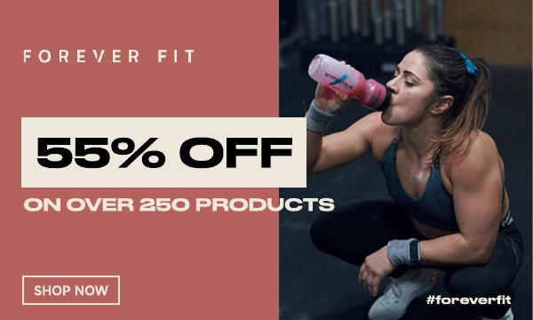 55% OFF over 250 products! No code required