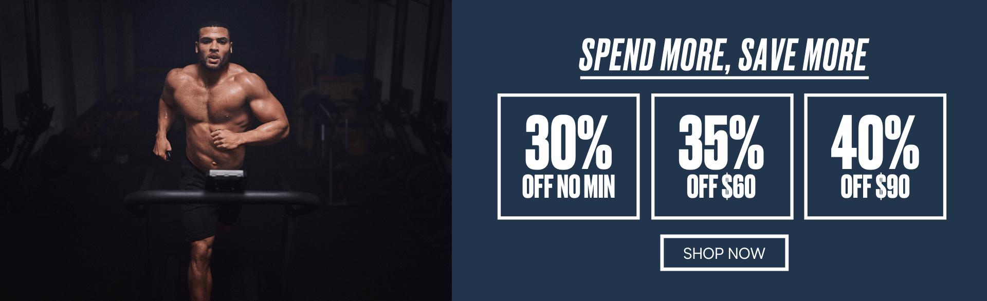 Spend More, Save More. Up to 40% off.