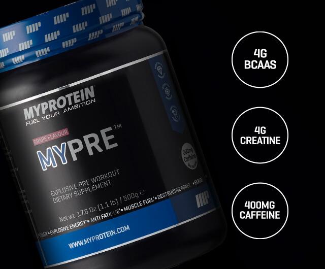 MYPRE™氮泵预锻炼公式粉