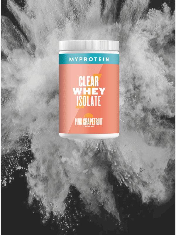 Clear Whey Isolate Pink Grapefruit
