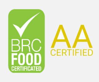 Známka AA za bezpečnost potravin