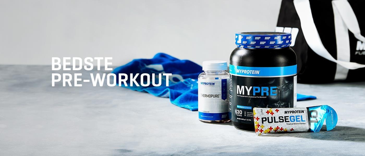 Hvad er det bedste pre workout PWO