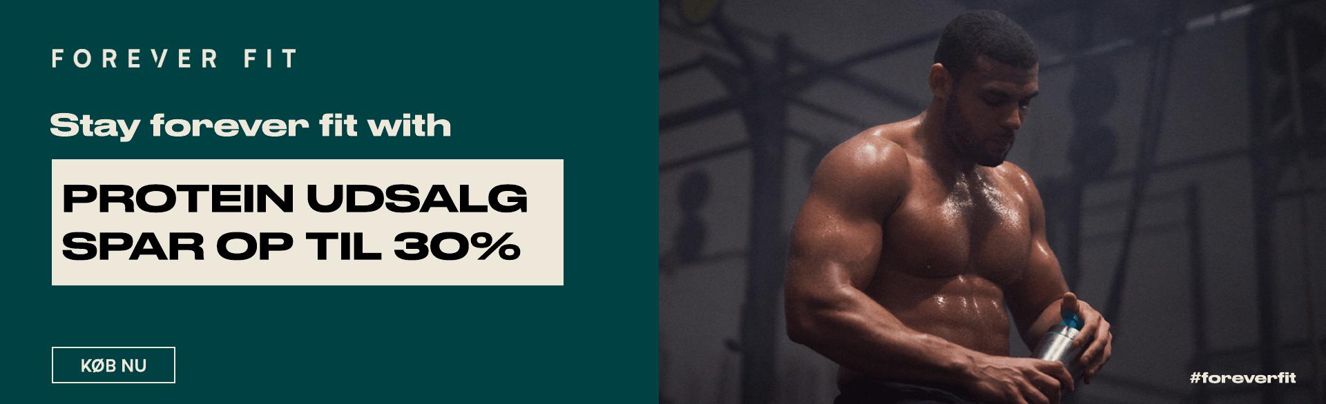 Protein udsalg - op til 30%