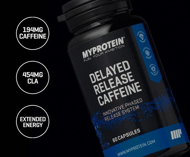 Koffein mit verzögerter Freisetzung