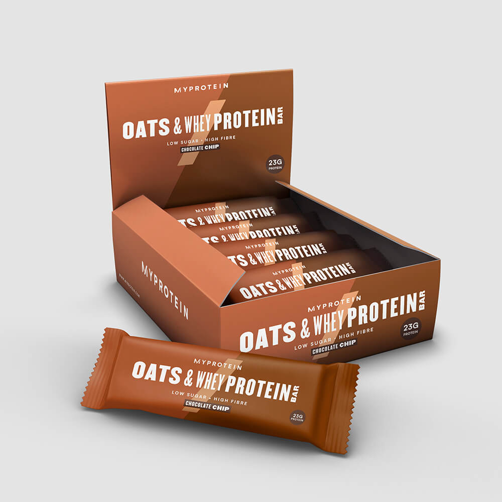 Oats & Whey Protein Bar